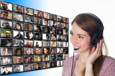 Conseil un client au téléphone